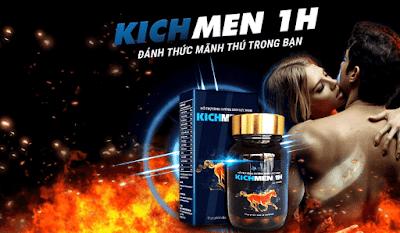 Thực hư Kichmen 1h tăng cường sinh lý nam hiệu quả 2