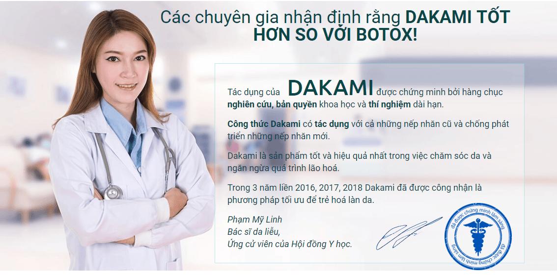Kem Dakami Hàn Quốc giá bao nhiêu? Mua chính hãng ở đâu 2