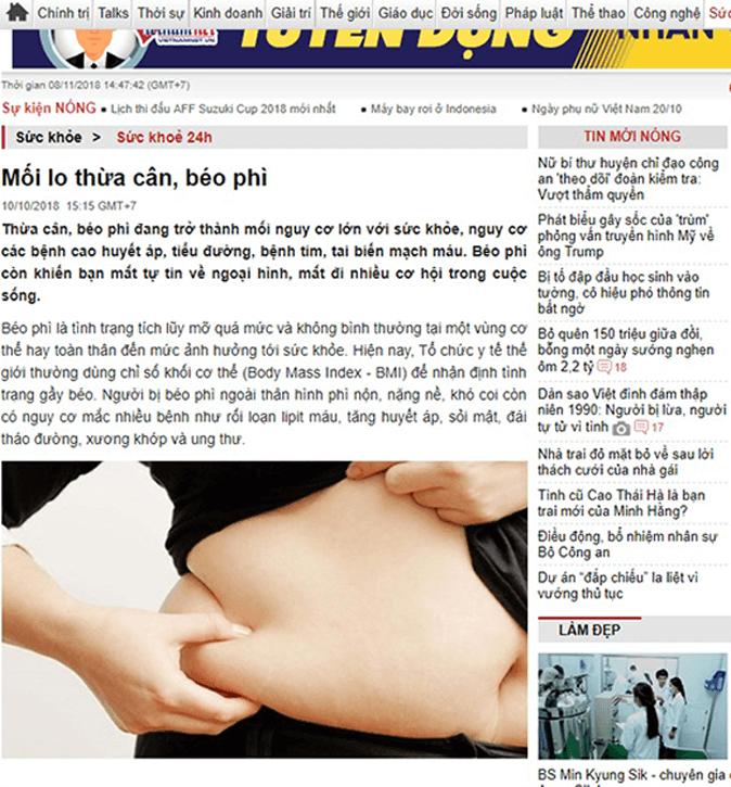 Thực hư tác dụng của viên giảm cân Hoa Bảo 8