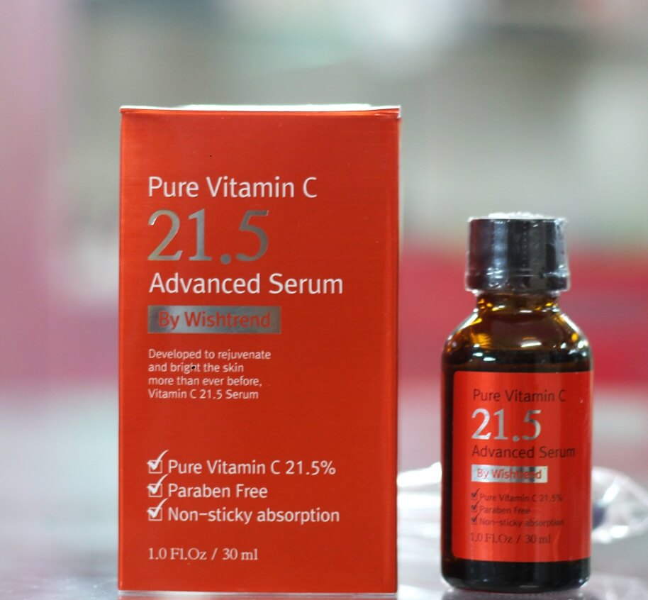 Pure Vitamin C 21.5 Advanced Serum By Wishtrend