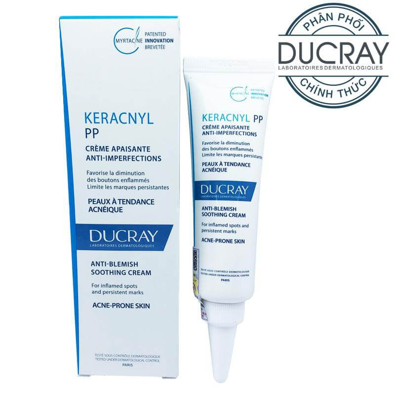 Ducray Keracnyl PP Anti-Blemish Soothing Care