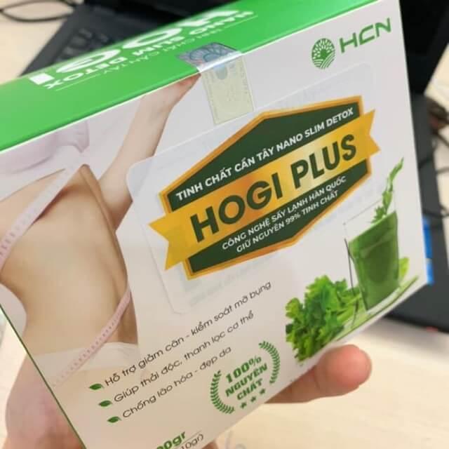 Tinh chất cần tây Nano Slim Detox Hogi Plus có tốt không? 1