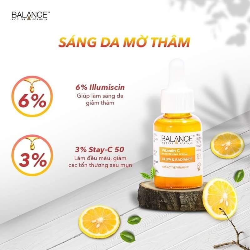 3-Balance-Active-Formula-Serum-trang-da-mo-tham-Vitamin-C-Brightening-30ml